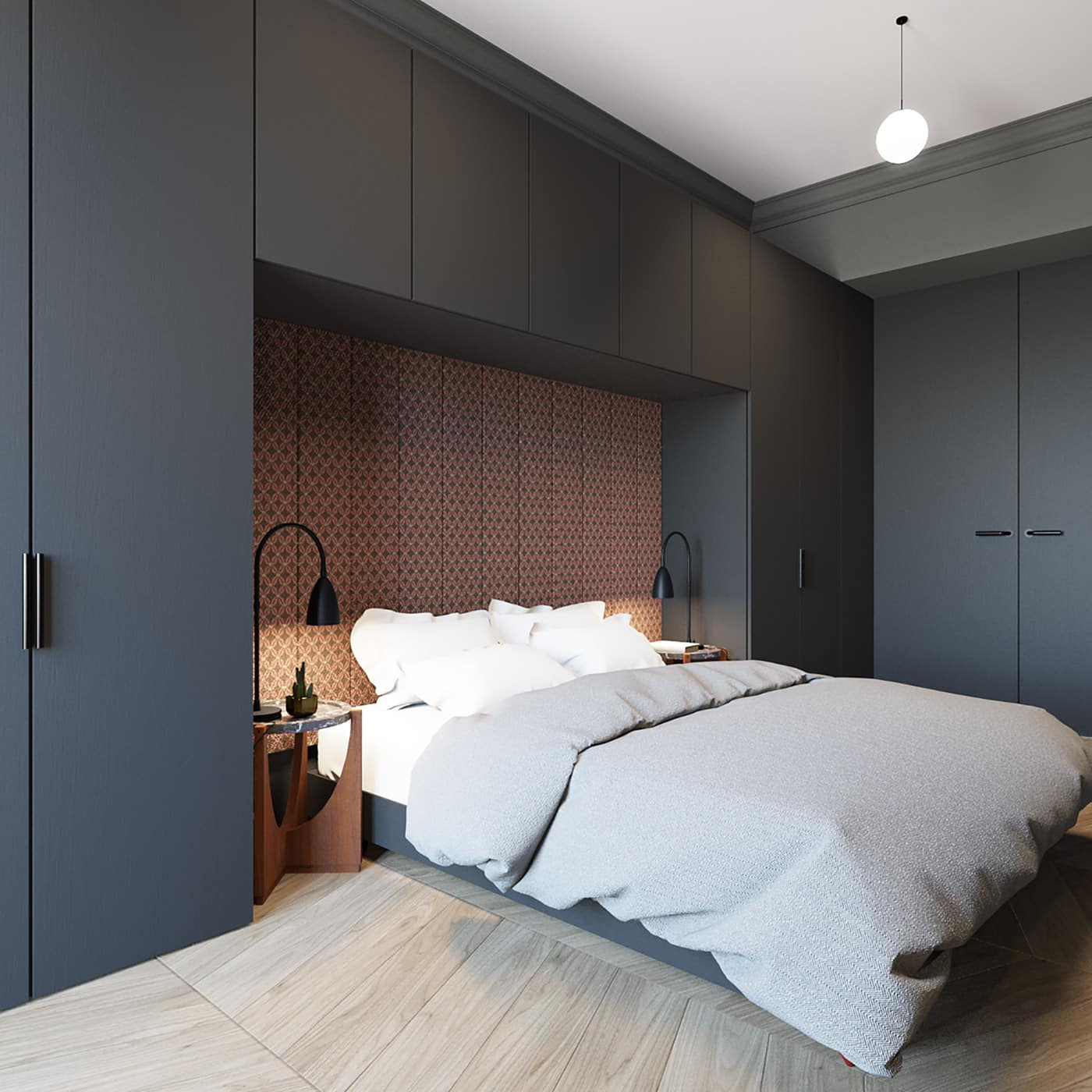 Роскошь и богатство: спальня в стиле барокко
